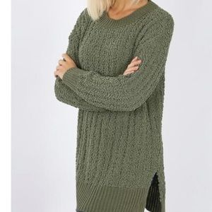 Sweaters - NEW🎈Gorgeous oversized popcorn sweater/dress